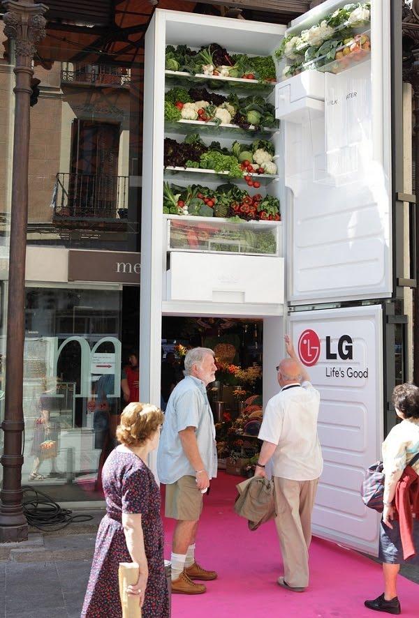 LG1 Не можешь ничего придумать, сделай обычную вещь гигантской