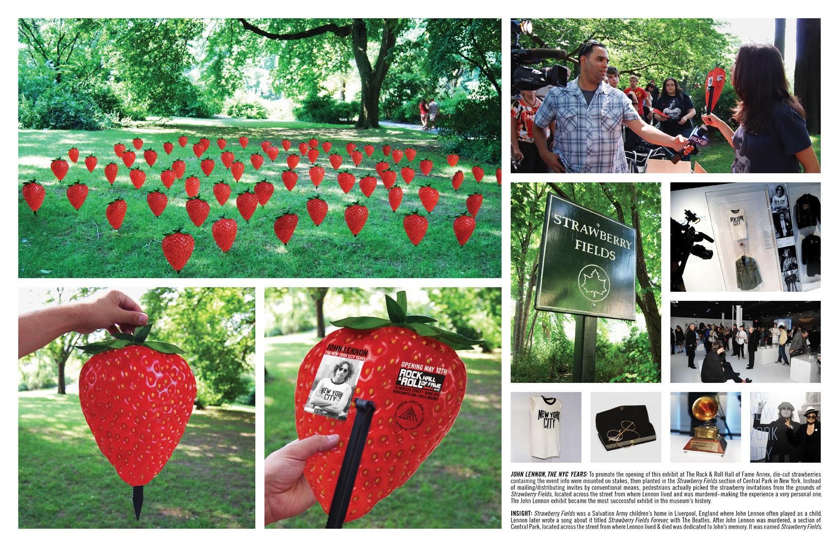rock and roll hall of fame john lennon strawberry fields Земляничные поля в честь Джона Леннона