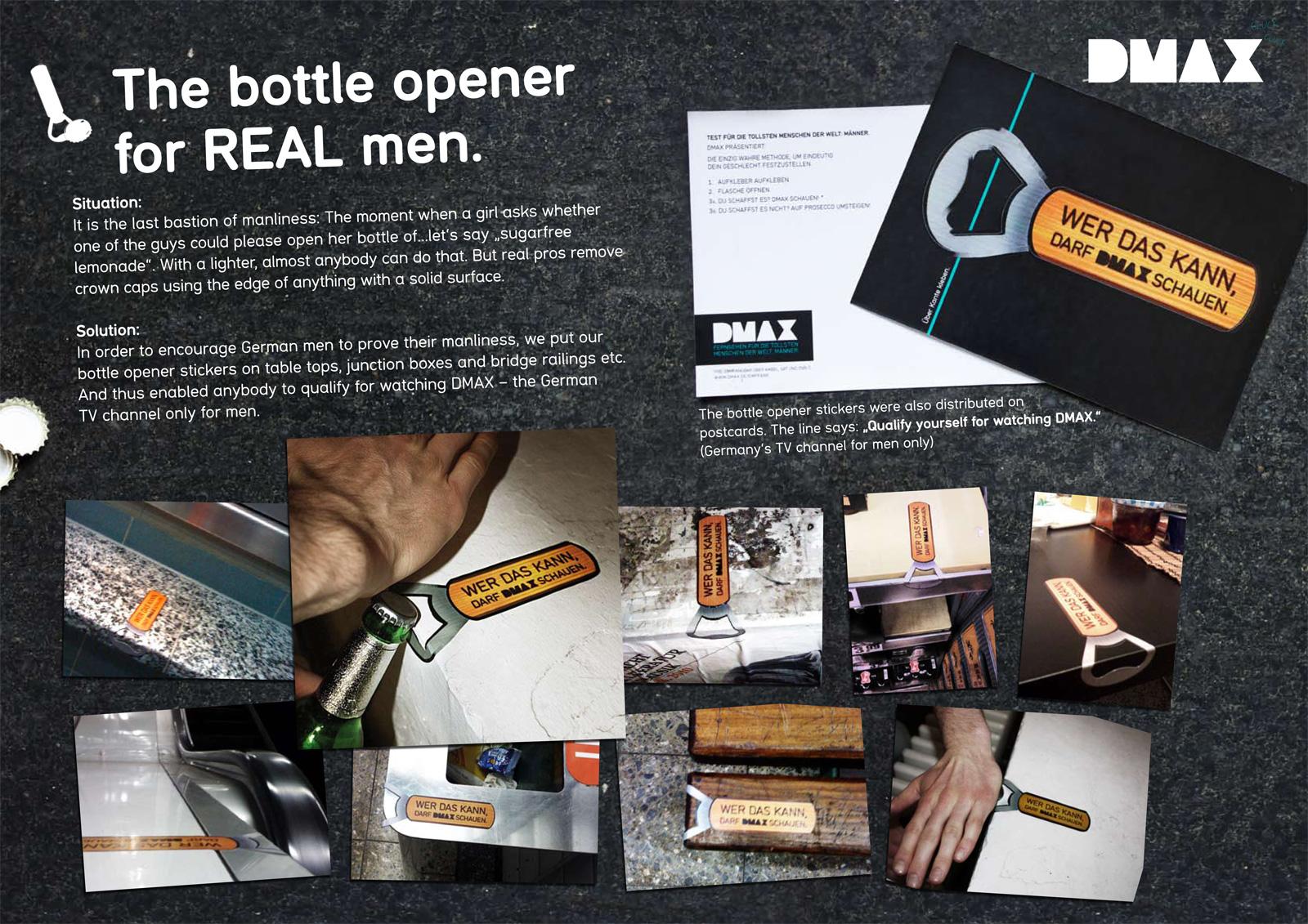 dmax bottle opener Настоящие мужские открывалки