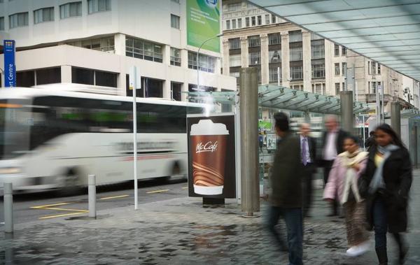 adshel create new zeland wellington mc cafe mccafe mcdonalds outdoor streaming fumant billboard 1 600x379 Реклама продолжает дымить