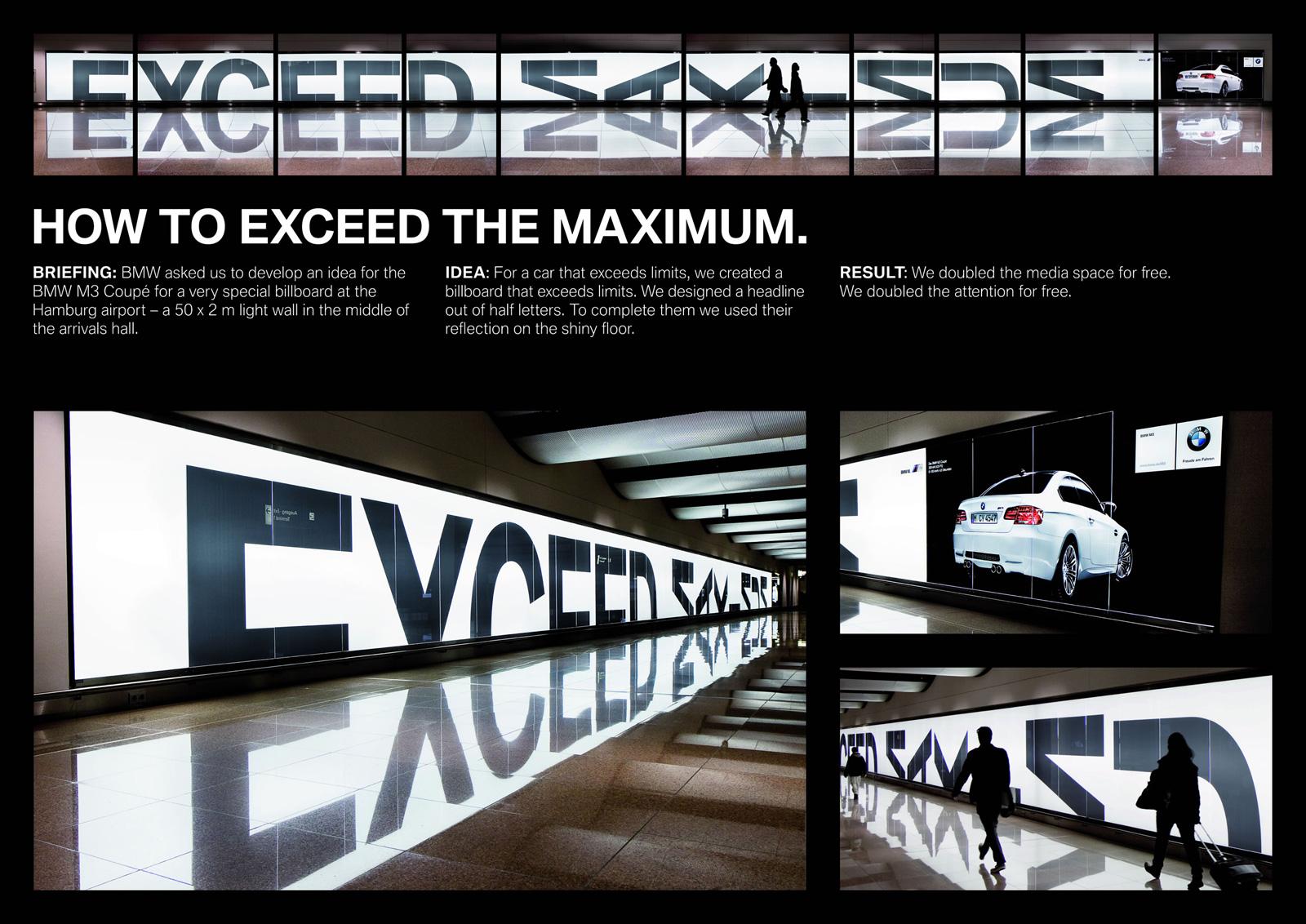 bmw m3 coupe the bmw light wall reflection Как сэкономить на рекламных площадях